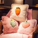 抱枕被子兩用北歐風格靠墊客廳臥室床上沙發靠枕車內午睡【輕派工作室】