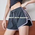 運動短褲女寬鬆休閒百搭夏季速干跑步健身褲防走光高腰舞蹈瑜伽褲【探索者戶外生活館】