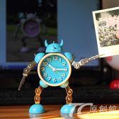 鬧鐘 變形機器人創意小鬧鐘-TC原創館