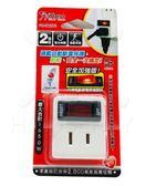【好市吉居家生活】  iPlus+ 保護傘 PU-0121A 2插1關 分接式 插座 壁插 電源開關 台灣製