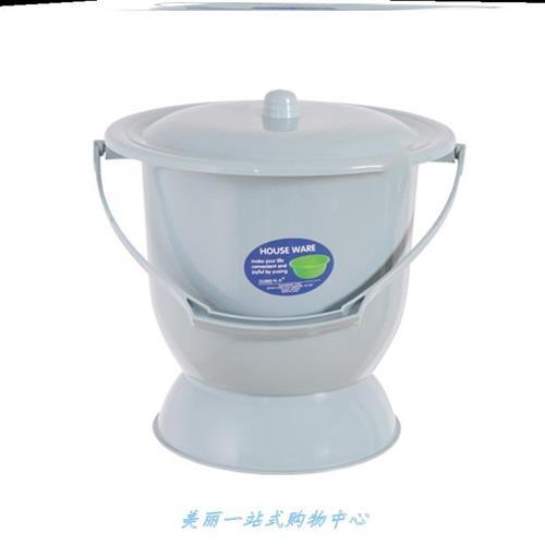 老人痰盂拉尿桶k加高小童尿盆塑料帶蓋加厚女臥室尿