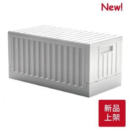 [ 家事達 ] SHUTER- FB-6432  樹德 - 貨櫃收納椅-白色