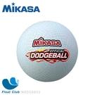 MIKASA 橡膠躲避球 休閒娛樂用躲避球 白色 3號 MKDGB850 原價400元
