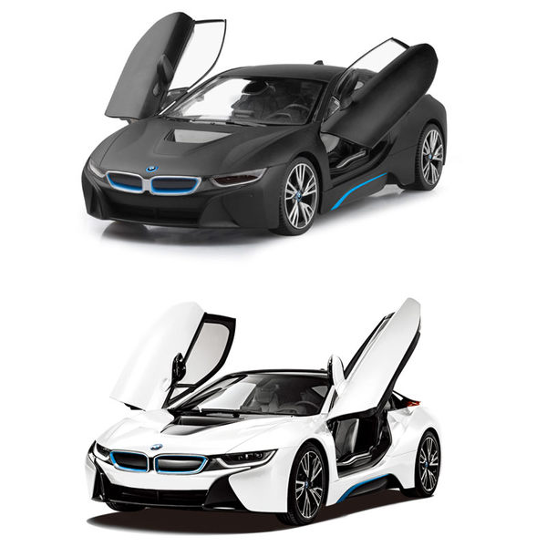 RASTAR 1:14 BMW I8遙控車(可遙控開門)