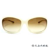 TOM FORD 墨鏡 TF98 (米白) 經典框型 太陽眼鏡 久必大眼鏡