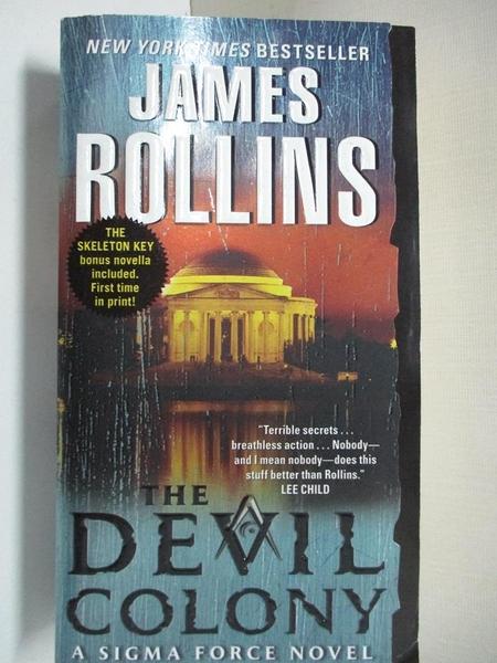 【書寶二手書T7/原文小說_A6S】The Devil Colony_Rollins, James