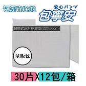 【包寧安】替換式尿片量販箱(22x50cm)x360片/箱(空白包裝)
