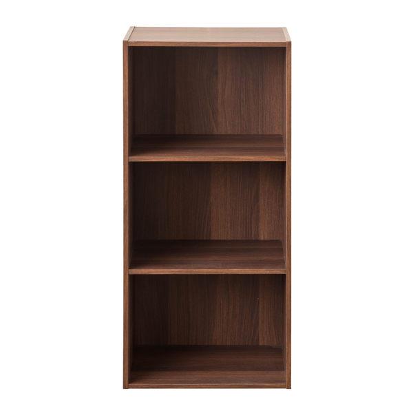 書櫃 堆疊 收納 【收納屋】家居E1三格空櫃&DIY組合傢俱