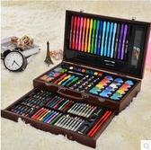 F兒童畫筆套裝禮盒小學生水彩筆劃畫工具繪畫文具美術學習用品禮物