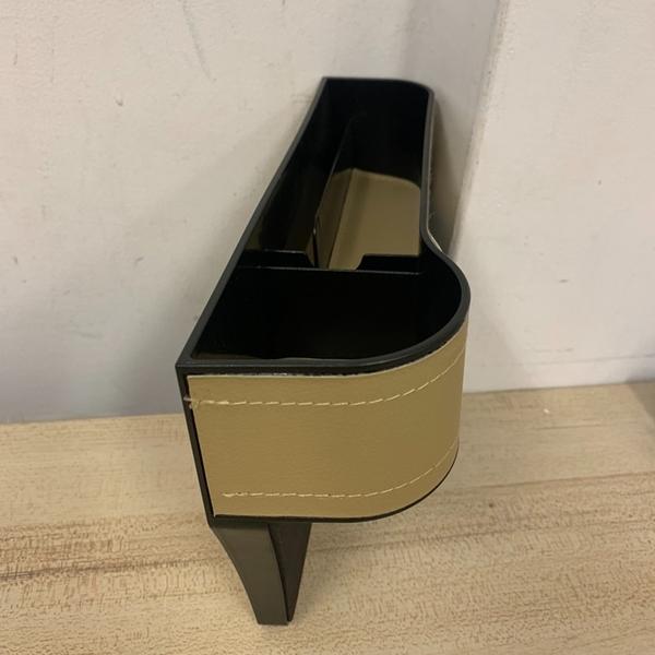 汽車正副駕駛座椅縫隙收納盒置物盒儲物盒(26*17*8/777-11307)