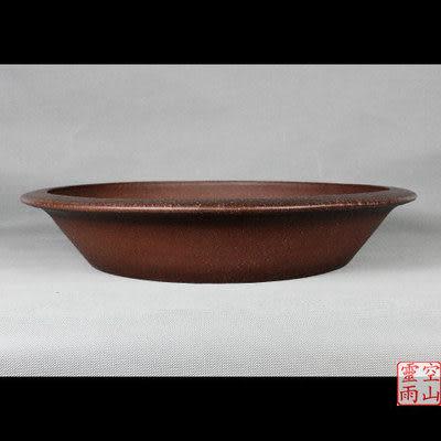紫砂53公分/全手工/仿古/圓形/淺盆