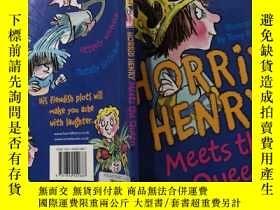 二手書博民逛書店Horrid罕見Henry Meets the Queen:可怕的亨利遇見了女王。。,Y200392