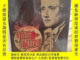 二手書博民逛書店The罕見Poetry of John Clare: A Cri