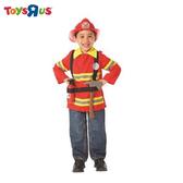 玩具反斗城 萬聖節 幼童消防員裝含帽子
