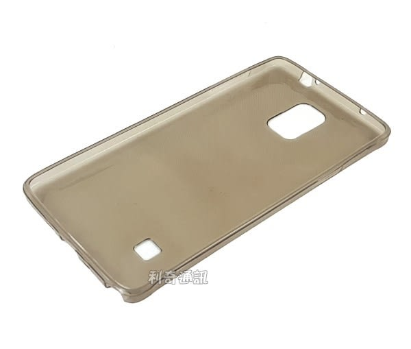 超薄透明軟殼 [透灰] Samsung Galaxy Note 4 N910 N910U