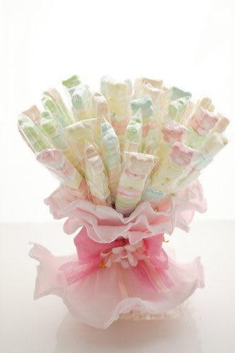 熊熊愛上你7顆棉花糖(二次進場,謝客禮,婚禮小物)/滿50支則贈送花束包裝~~~