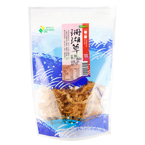 清淨生活珊瑚草100g/包