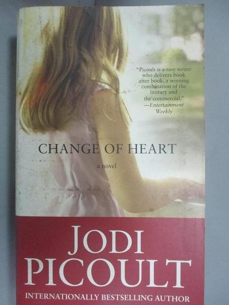【書寶二手書T9/原文小說_CMG】Change of Heart_Jodi Picoult