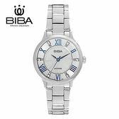 法國 BIBA 碧寶錶 經典系列 藍寶石玻璃 石英錶 B321S105W 白色 - 32mm