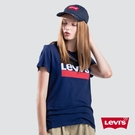 Levis 女款 短袖T恤 / 復古Sportwear Logo / 藍