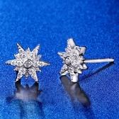 耳環 925純銀鑲鑽-閃耀百搭生日情人節禮物女飾品73hk55【時尚巴黎】