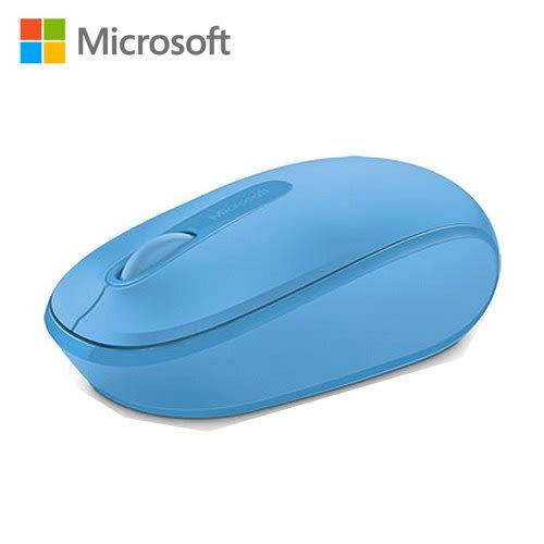 Microsoft 微軟 無線行動滑鼠1850 活力藍