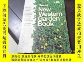 二手書博民逛書店Sunset罕見NEW western garden book日