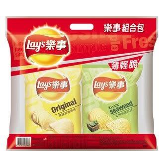 Lay s 樂事 組合包(4包入) 172g/袋【康鄰超市】