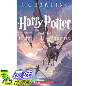 [104美國直購] 美國暢銷書排行榜 Harry Potter and the Order of the Phoenix (Book 5) Paperback