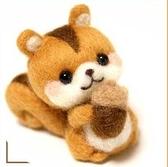 鼠狗熊兔羊毛氈戳戳樂手工制作diy新手材料送工具