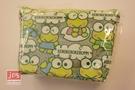 KeroKeroKeroppi 大眼蛙 透明T型筆袋 收納袋 滿版 871334