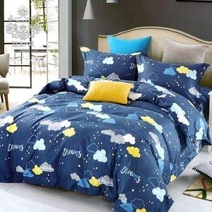 AGAPE 亞加‧貝《夢境朵朵》MIT舒柔棉 雙人5尺三件式薄床包組