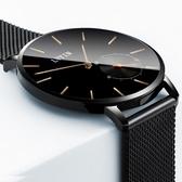 男士手錶 男錶學生超薄石英男士手錶防水皮帶韓版簡約 WD1030『衣好月圓』 TW