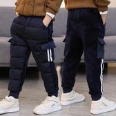 男童冬裝棉褲外穿加絨加厚中大童金絲絨雙面一體絨休閑褲 概念3C旗艦店