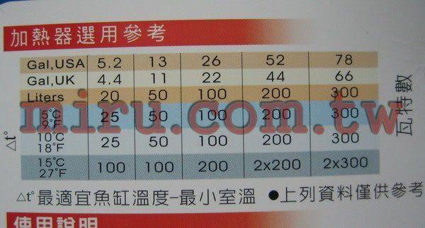 【西高地水族坊】HEXA 微電腦控溫(加溫)器(精確控溫)50W