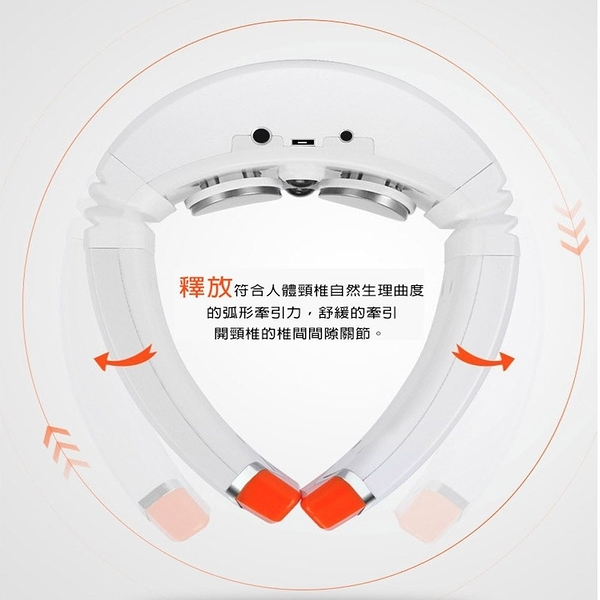 【YOGMEDI優歌】語音熱能真人手感 3D肩頸按摩器/頸椎按摩器