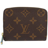 Louis Vuitton M60067 經典花紋信用卡拉鍊零錢包 全新 現貨