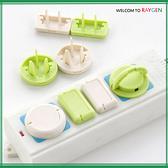 創意寶寶安全防觸電插座保護蓋六入裝