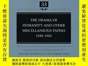 二手書博民逛書店The罕見Drama Of Humanity And Other Miscellaneous Papers-《人性