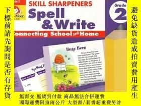 二手書博民逛書店小學生英文學習罕見Skill Sharpeners Spell