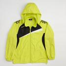 KAPPA義大利時尚型男單層風衣(可拆帽)-岩草綠