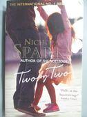 【書寶二手書T5/原文小說_JKC】Two by Two_Nicholas Sparks
