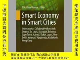 二手書博民逛書店Smart罕見Economy in Smart CitiesY405706 T. M. Vinod Kumar