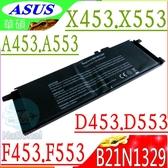 ASUS 電池-華碩 B21N1329,X453電池,X553,A453,A553,D453,D553,F453,F553,R413,R515電池,OB200-00840000M
