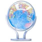 得力高清地球儀初中學生用高中生小學生世界地圖儀球教學版擺件家