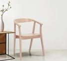 【歐雅系統家具】耶夫休閒單椅-原木色 / 北歐風 / 現成家具 / 椅子 / 橡木 / 二色選擇