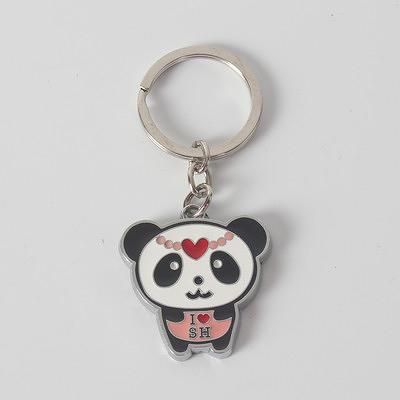 [銀聯網] 鑰匙扣特價熊貓鑰匙圈中國特色 2入