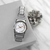 CK / K6K33B46 / 簡約典雅 礦石強化玻璃 日期 瑞士製造 不鏽鋼手錶 白色 30mm