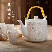 耐高溫陶瓷茶壺涼水壺大號容量冷水壺