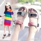 女童涼鞋2020夏季新款韓版小女孩時尚公主兒童軟底中大童沙灘鞋子 依夏嚴選